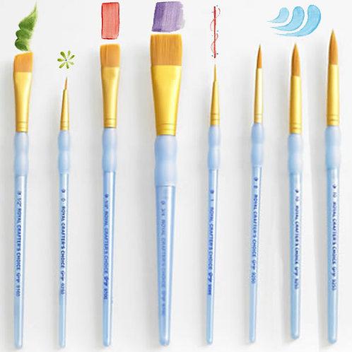 Set of 8 brushes