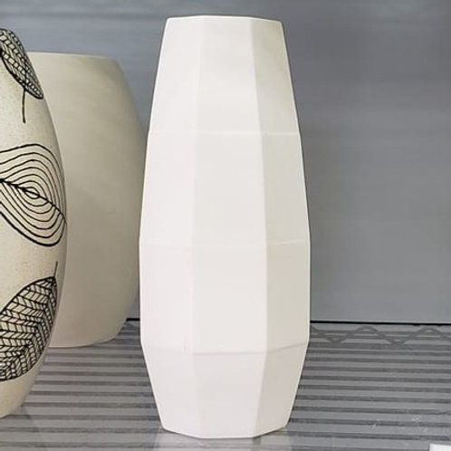 Faceted Vase