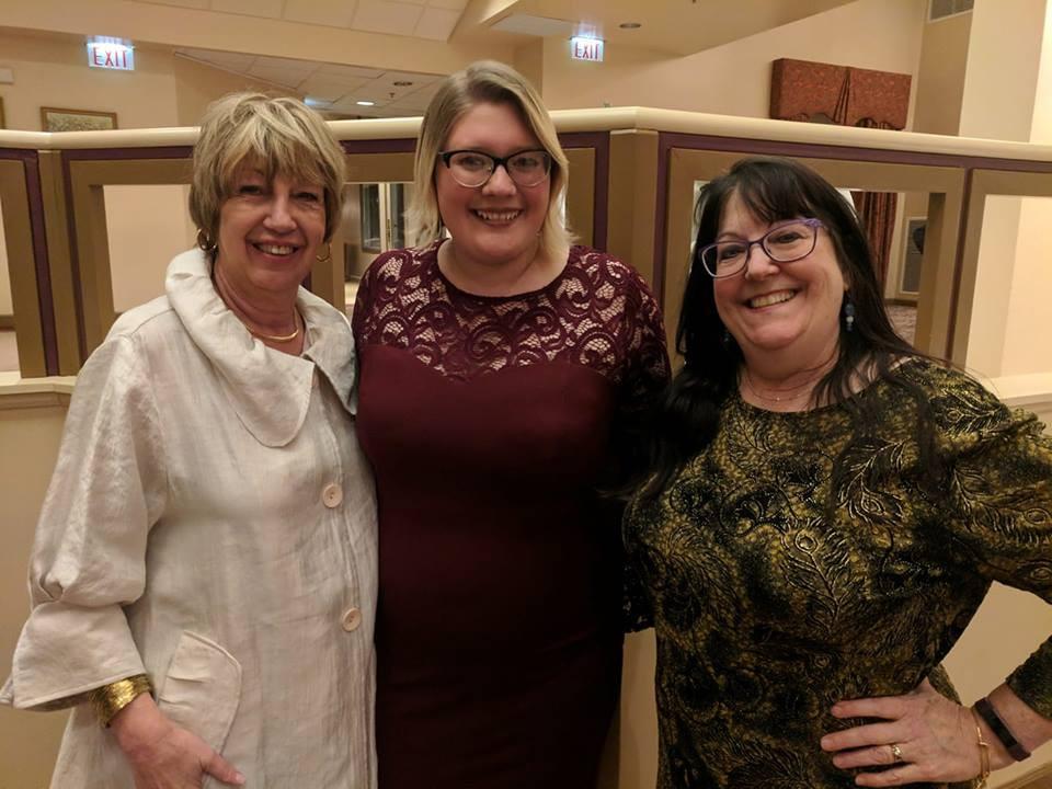 Patti, Jessica & Barbara at the social!