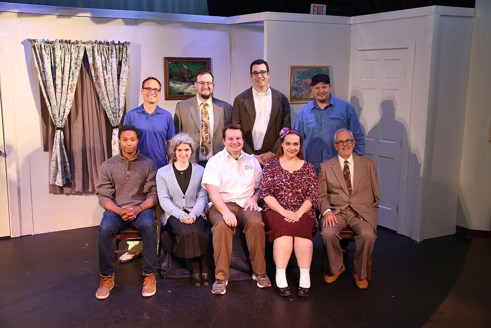 """The cast of """"The Boys Next Door."""""""