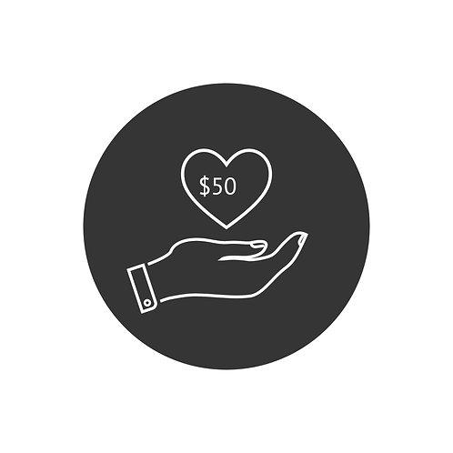 Donation- $50.00