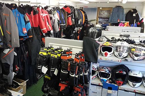 Bilde fra butikken på yamahatunet