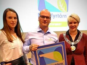 Bergensordfører delte ut offisielt diplom til Saneringsgruppen