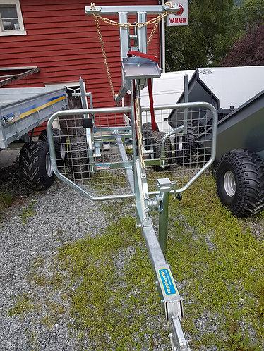 ATV henger for skogbruk. Økonomi.