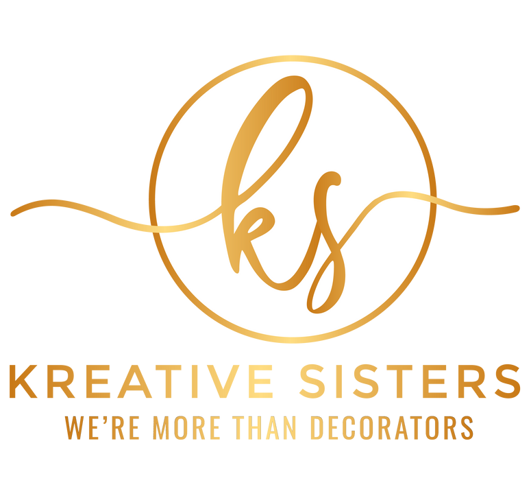 KreativeSisters_White and Gold Full Logo