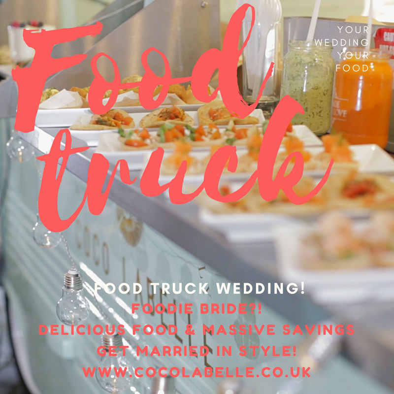 flyer food truck wedding