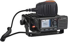 Base and mobile radios