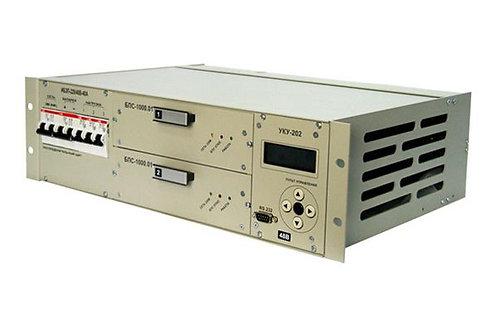 ИБЭП-220/48В-40А-2/2 (1000)-3U