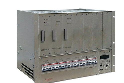 ИБЭП-220(380)/24В-210А-3/7 (1000)-8U-LAN