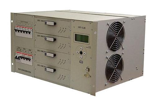 ИБЭП-220(380)/48В-100А-4/4 (1500)-6U-LAN