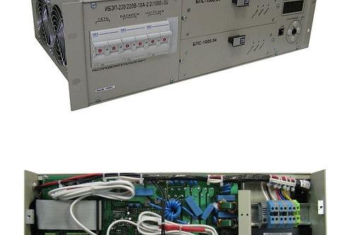 ИБЭП-220/220В-10А-2/2 (1000)-3U-LAN