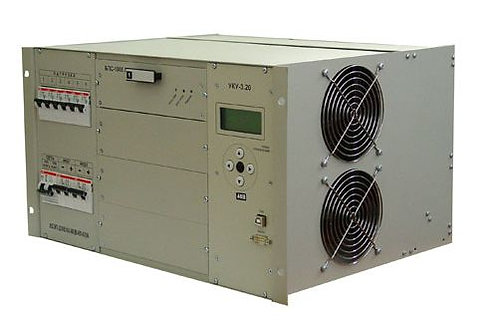 ИБЭП-220(380)/24В-120А-1/4 (1000)-6U-LAN