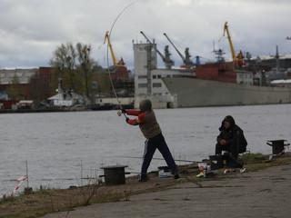 В Калининграде прошёл турнир по рыбной ловле