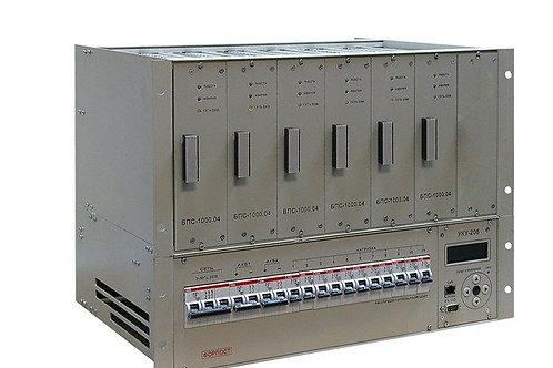 ИБЭП-220(380)/48В-140А-6/7 (1000)-8U-LAN