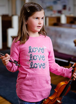Chloe Groth Streetcar Suzuki Violin Lesson New Orleans