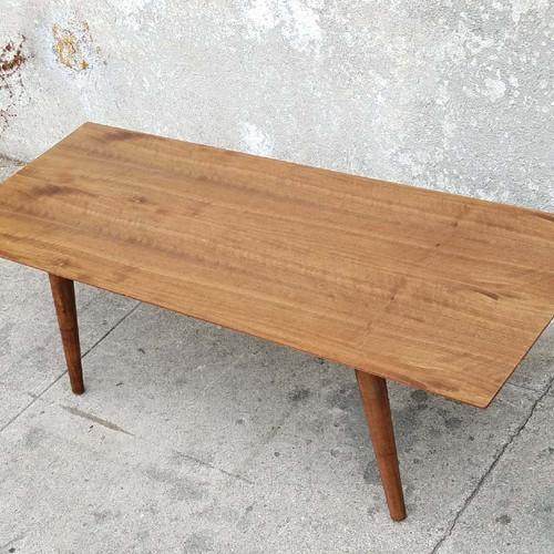 Walnut Sleek Coffee Table