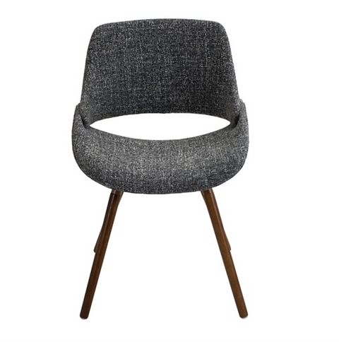 Pleasing The Eero Dining Chair In Woven Grey Tweed Lamtechconsult Wood Chair Design Ideas Lamtechconsultcom