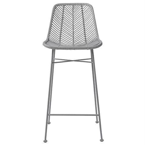 grey bar stool