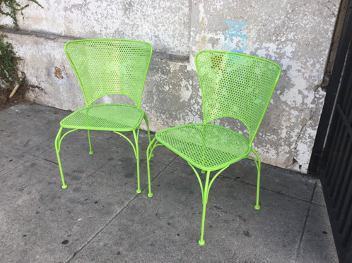 lime green patio furniture. lime green patio chairs powder coated 225w x 22d 33h 175h on sale 75 each furniture