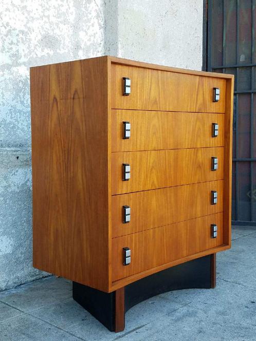 vintage 1970u0027s highboy dresser chest of drawers