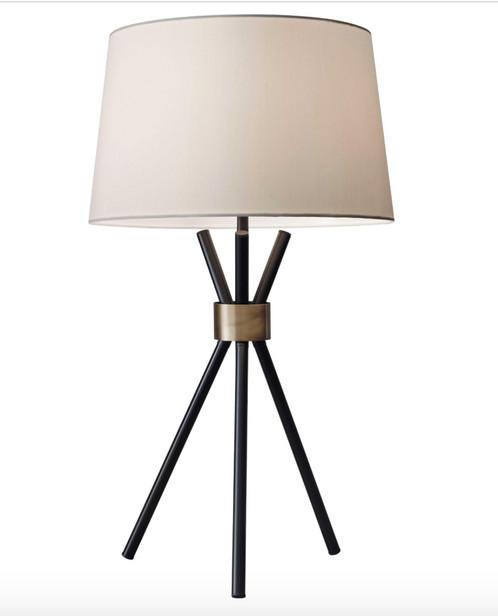 Mid century 3 leg table lamp sunbeam vintage mid century 3 leg table lamp mozeypictures Gallery