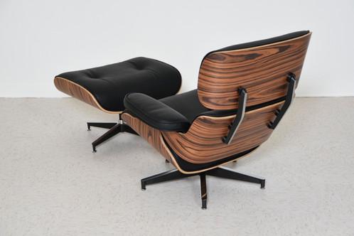 Walnut And Leather Chair And Ottoman Chair: 34.5u201d Wide X 34.5u201d Deep X 33u201d  High, Seat Height 16u201d Ottoman: 25.5u201d Wide X 21u201d Deep X 17.25u201d High $1295