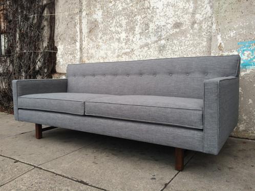 Klein Sofa In Ash Grey Tweed