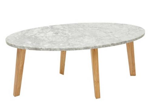 modern marble coffee table | sunbeam-vintage