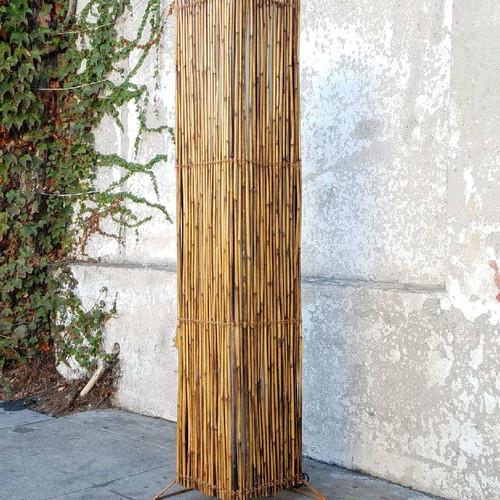 vintage tiki floor lamp