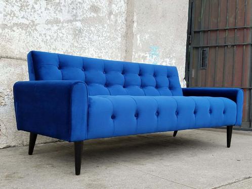 """""""Lone""""Royal Blue Velvet Sofa"""