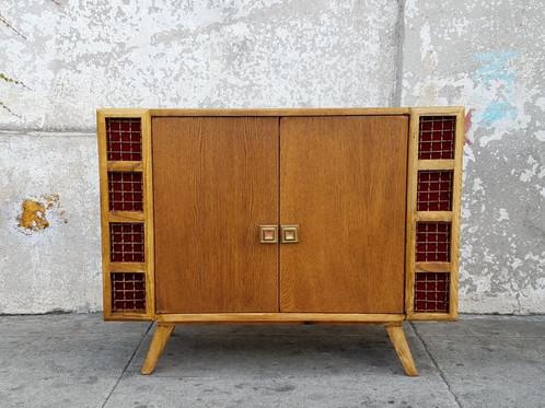 Unique Vintage Bar Cabinet