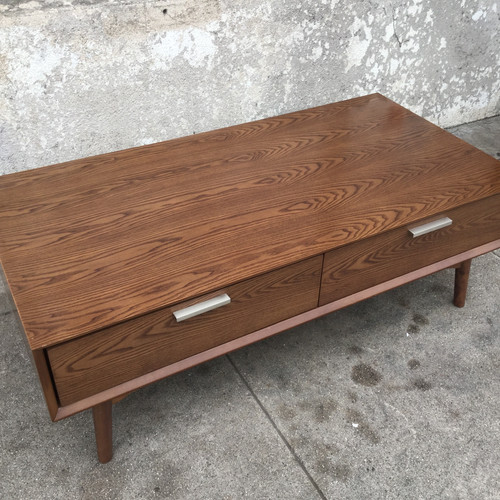 Sunbeamvintage Coffee Tables - Rectangle coffee table with drawers