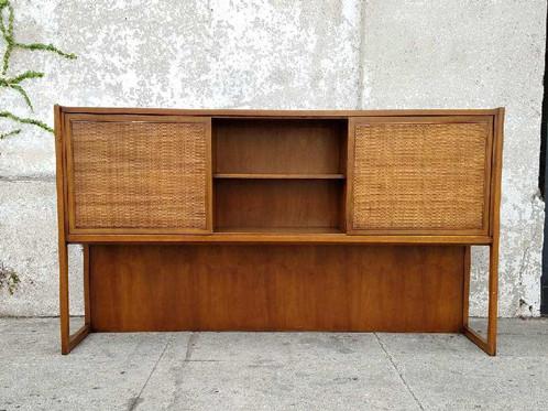 Cool Vintage Display Cabinet With Sliding Doors