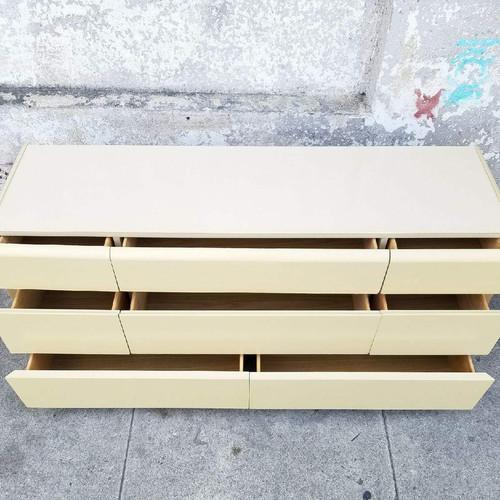 8 Drawer Vintage Dresser By Lane