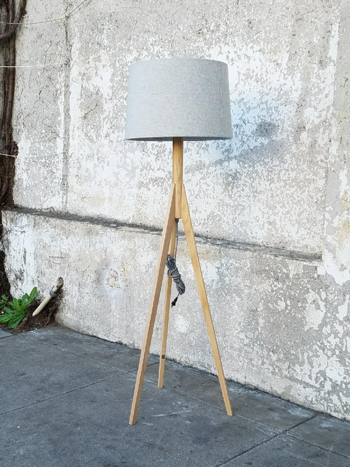Tripod Boho Floor Lamp