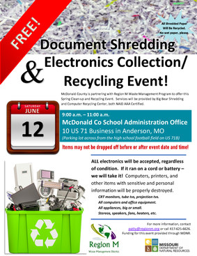 06.12.21 McDonald County E-waste and Pap