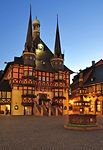 historic Town Hall of Wernigerode,Harz