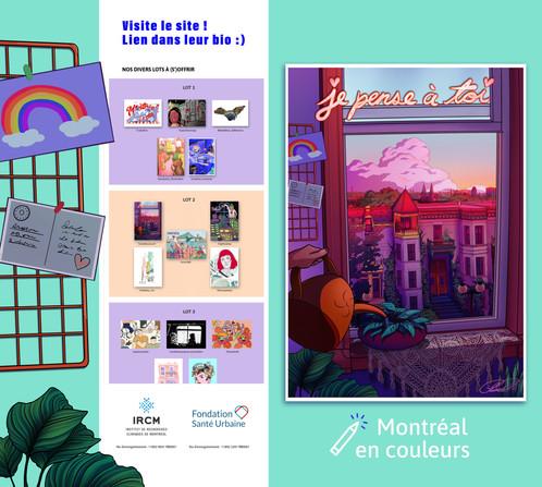 Publicité personnelle des cartes postales