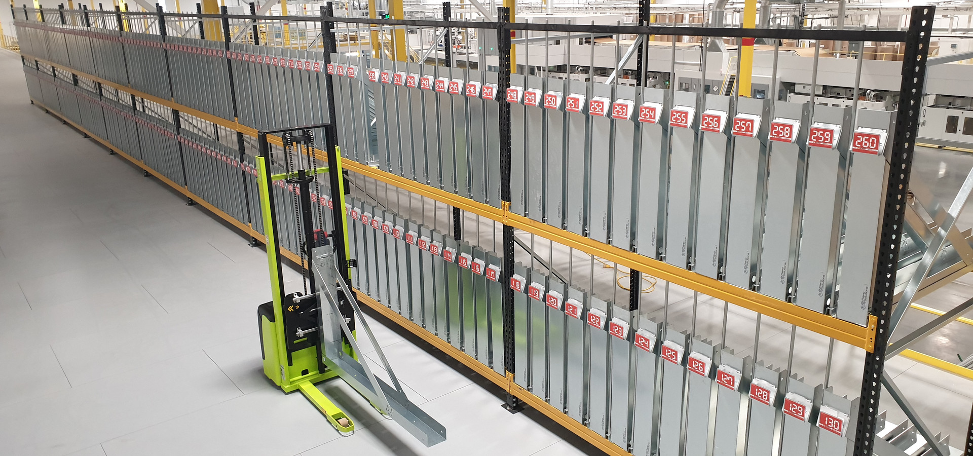 Flatbed Dies Stacker - Storage