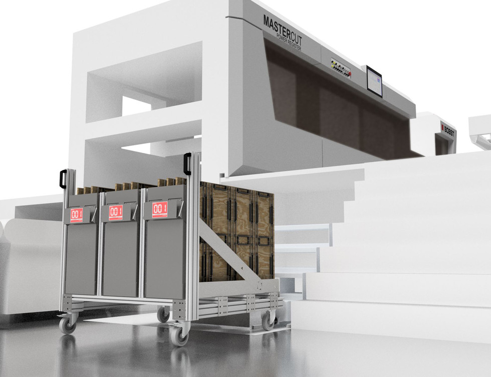 Flatbed Die Trolley for BOBST