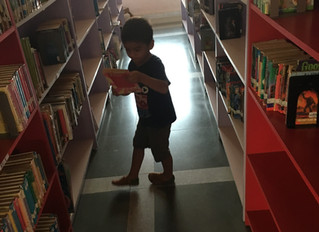 Things to do in South Goa with kids: Visit the library