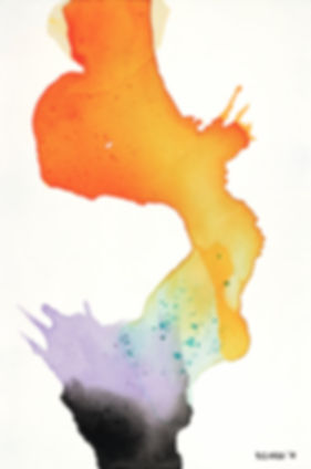 Effloresce 1 50x70cm ( Giclee Only - Bla