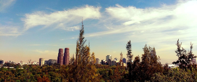 City Centre from Chapultepec