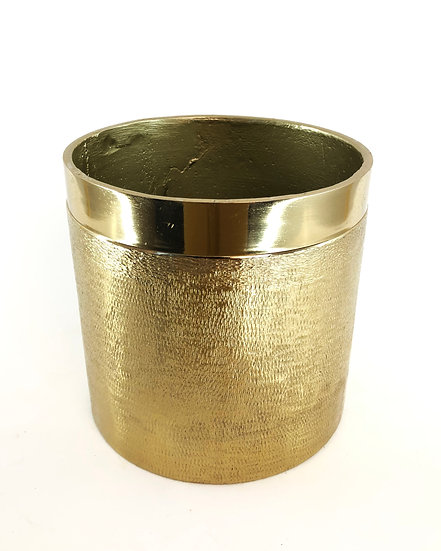 Alu Topf Gold 13,5x13