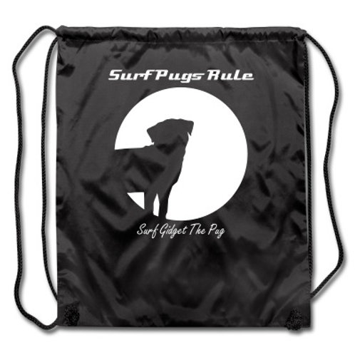 Surf Pug String Back Pack