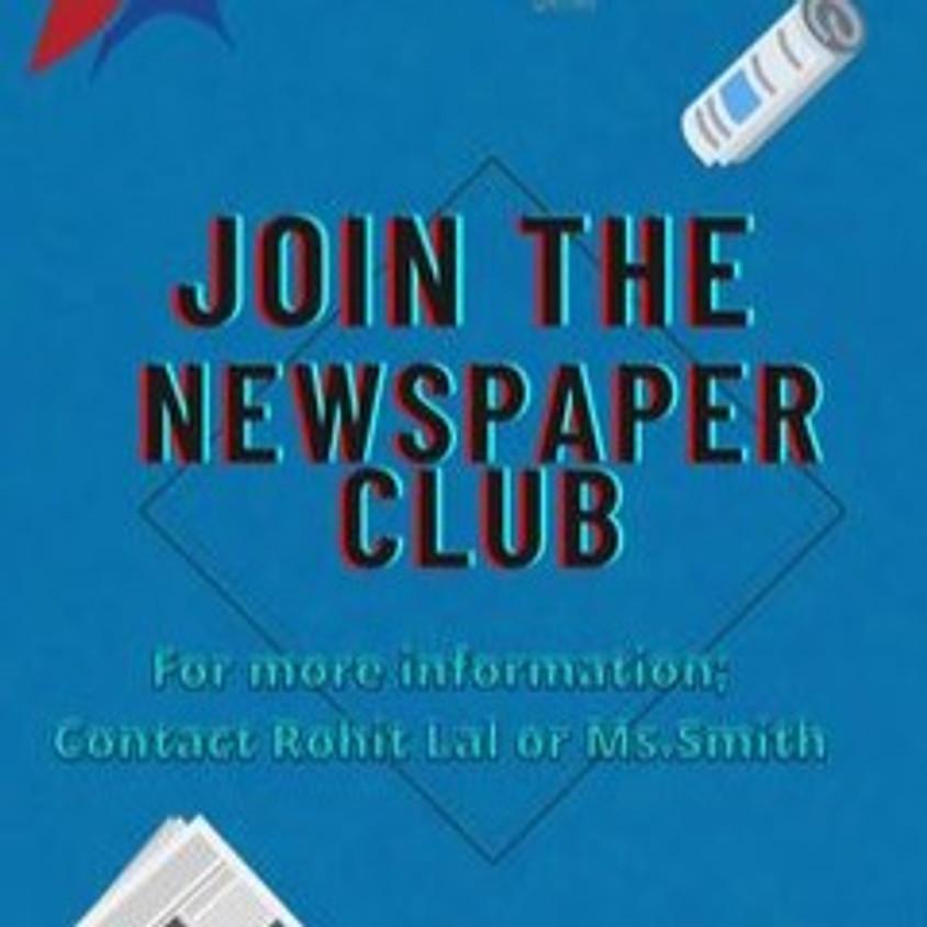 Newspaper Club Student signup post