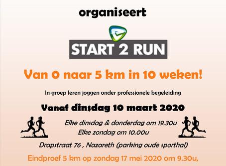 Start to Run 2020