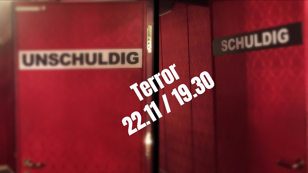 Παράσταση Terror του Φερντινάντ φον Σίραχ [Ferdinand von Schirach]