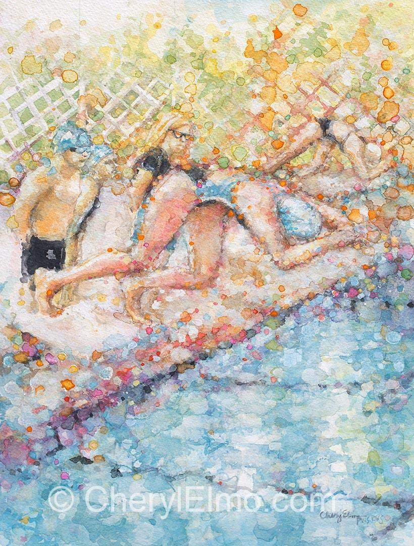 The Swimmer (SOLD)