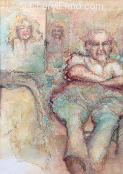 Portrait of Marilyn  2